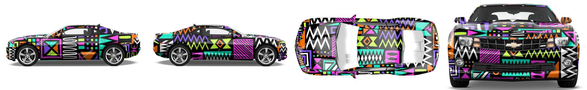 Muscle Car Wrap #52663