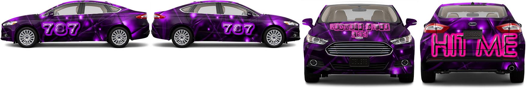 Sedan Wrap #52792