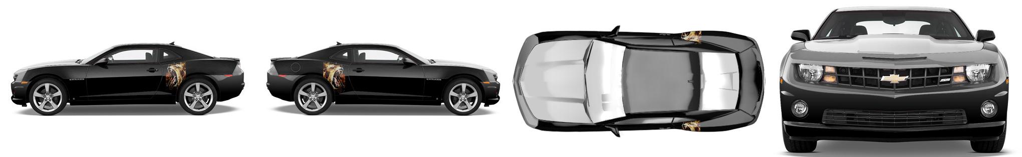 Muscle Car Wrap #52876