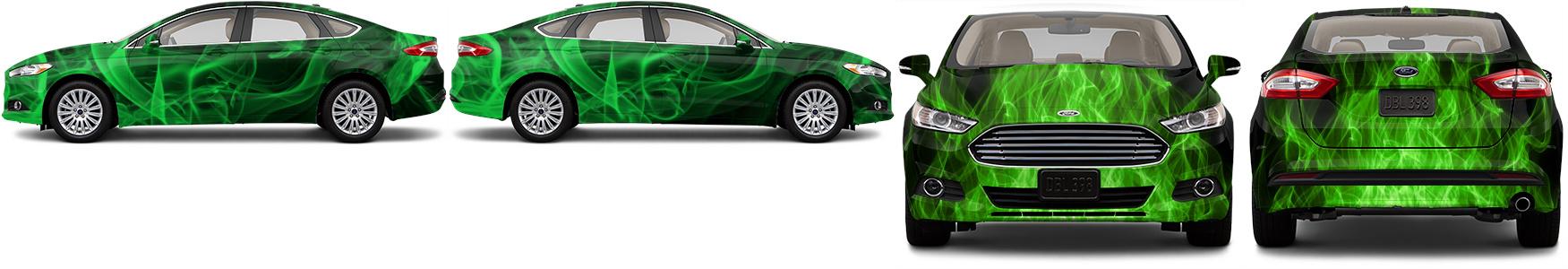 Sedan Wrap #52916