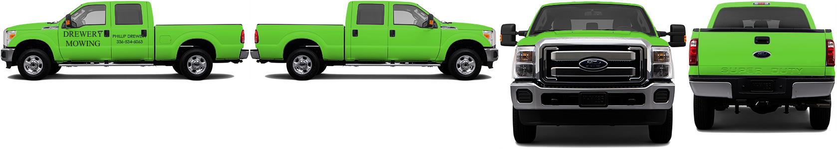 Truck Wrap #52958