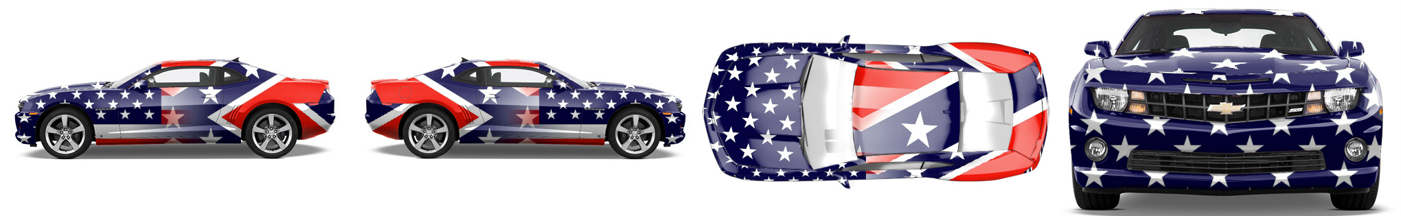 Muscle Car Wrap #52722