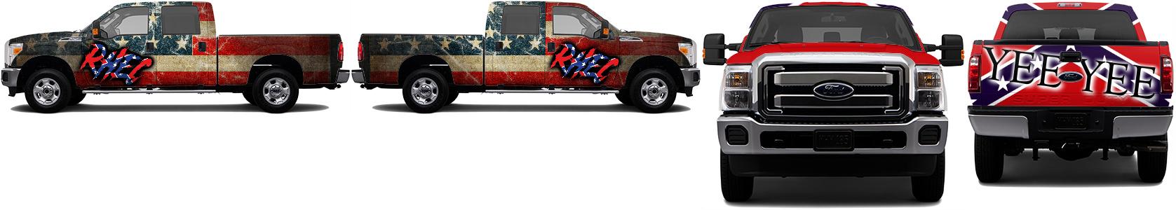 Truck Wrap #53080