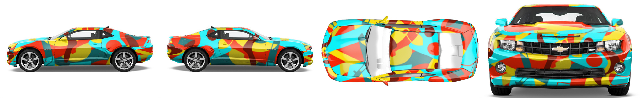 Muscle Car Wrap #53447