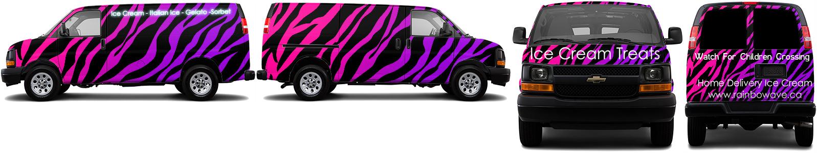 Cargo Van Wrap #53098