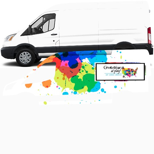 Transit Van Wrap - Custom Design #47445 by New Designer