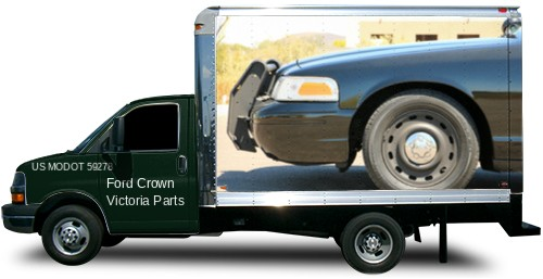 Econoline CVPI Transport Box Truck Wrap