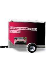 Honda trailer Trailer Wrap