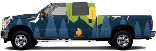 Truck Wrap #52501