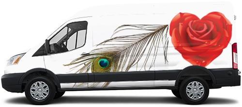 Transit Van Wrap #52591