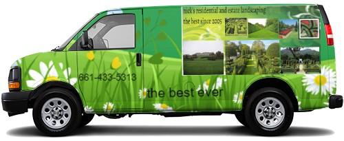 Cargo Van Wrap #52982