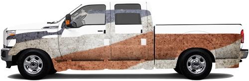 Truck Wrap #53620
