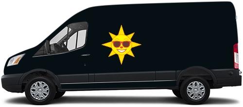 Transit Van Wrap #53803
