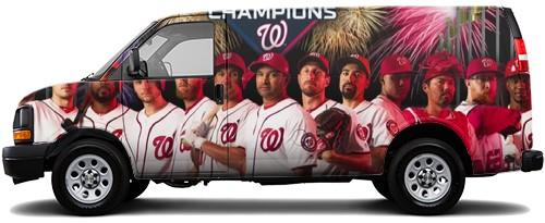 Cargo Van Wrap #54421