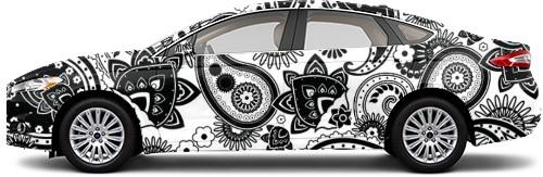 Sedan Wrap #54495