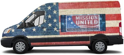 Transit Van Wrap #54567