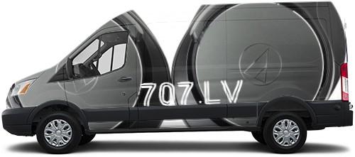 Transit Van Wrap #54584