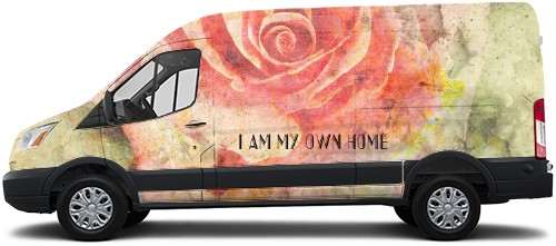 Transit Van Wrap #54654