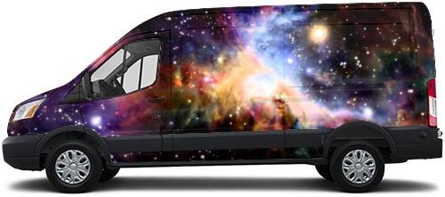 Transit Van Wrap #54701