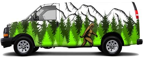 Cargo Van Wrap #54768
