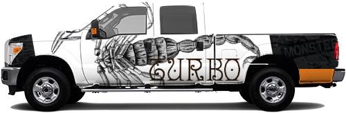 Truck Wrap #54980