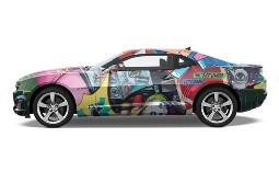 Muscle Car Wrap