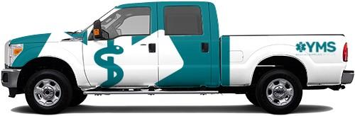 Truck Wrap #55442