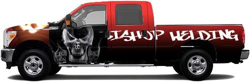 Truck Wrap #55463