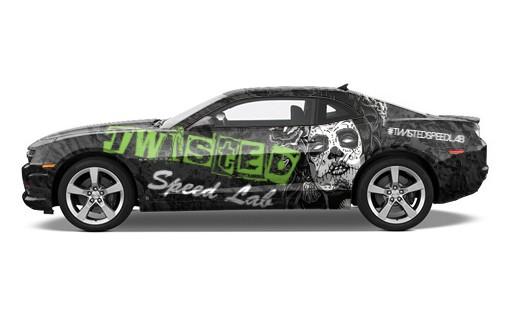 Muscle Car Wrap #55642