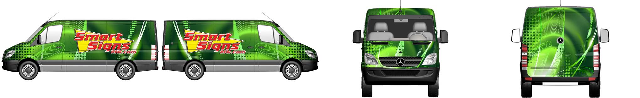 Van Wrap #598