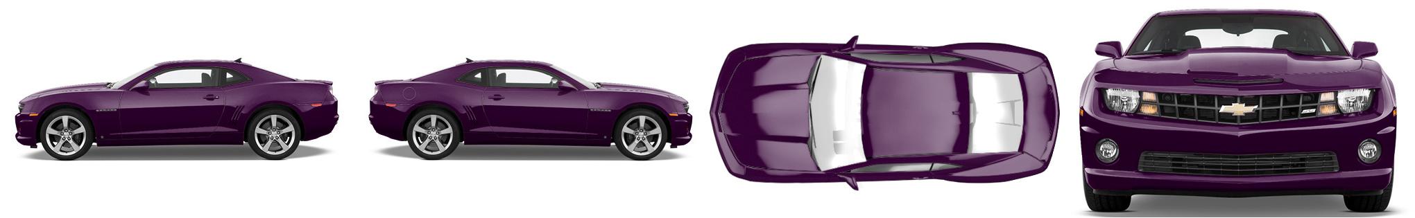 Muscle Car Wrap #980
