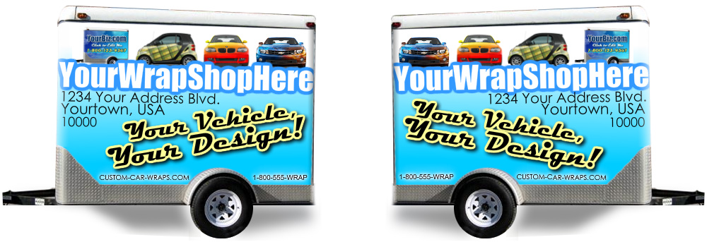 Wrap Shop Template Trailer