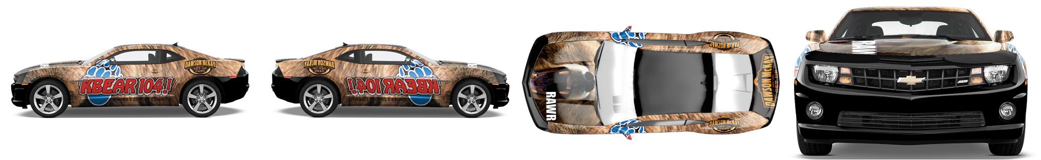 Muscle Car Wrap #917