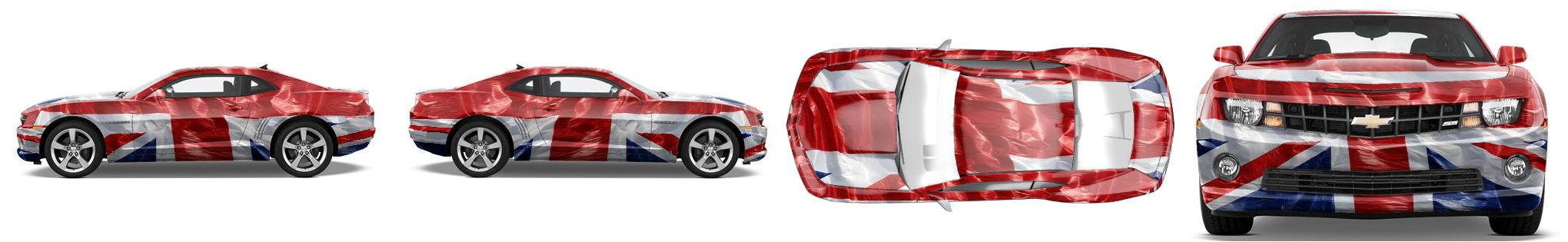 Muscle Car Wrap #1178