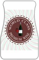 Premium Wine Logo Car Mats Front