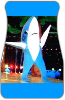 Left Shark Car Mats Front