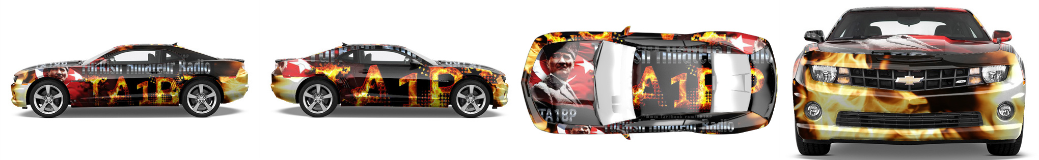 Muscle Car Wrap #16098