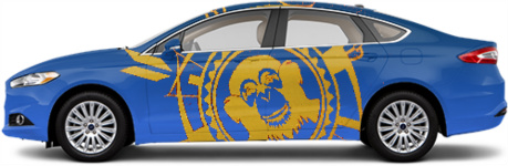 Fort Awesome Mobile Sedan Wrap