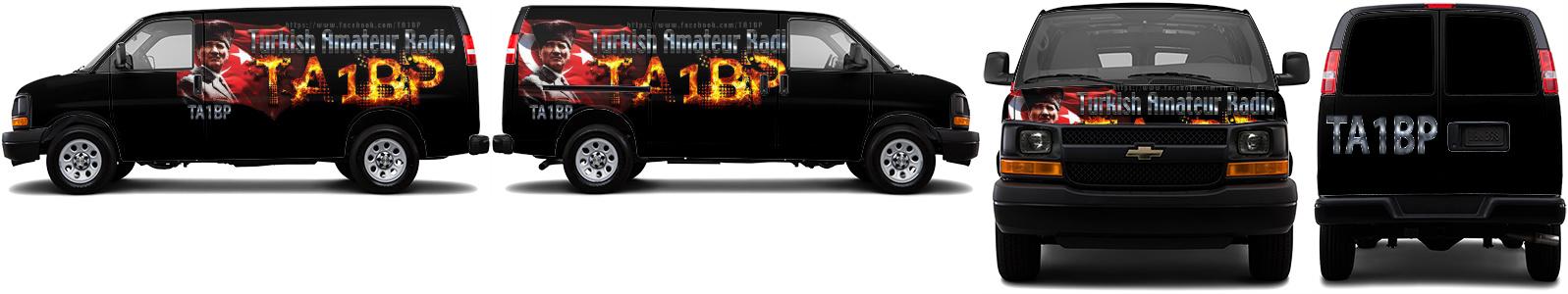 Cargo Van Wrap #16029