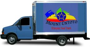 Mount Entoto Box Truck Wrap
