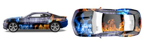 Element Muscle Car Wrap