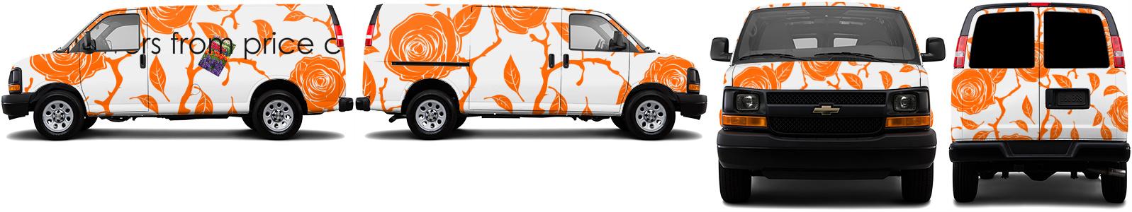 Cargo Van Wrap #34407