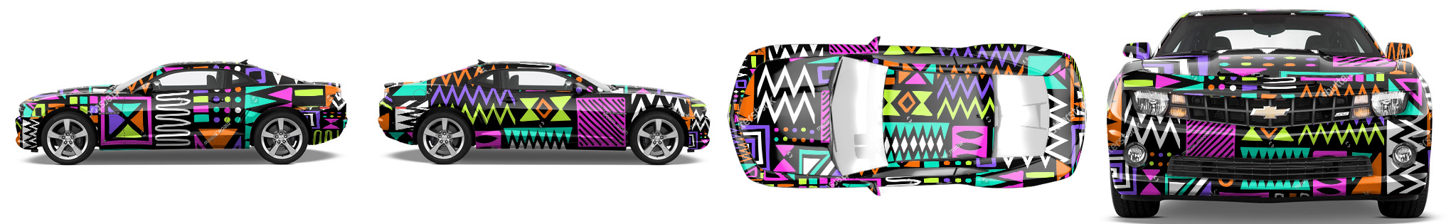 Muscle Car Wrap #52663