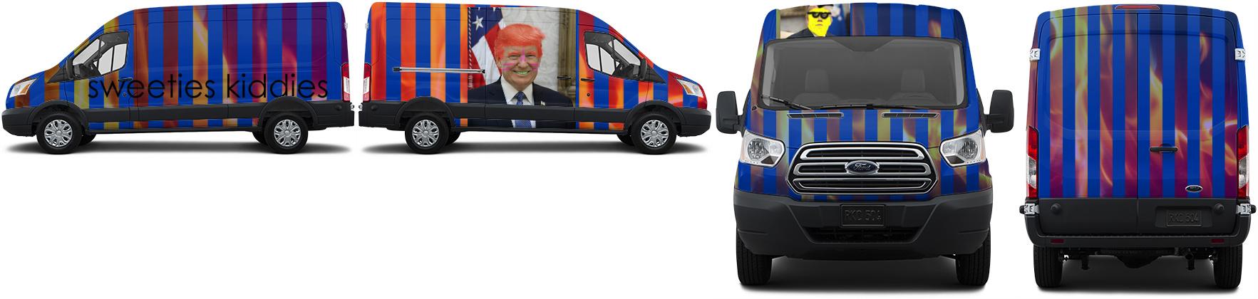 Transit Van Wrap #52796