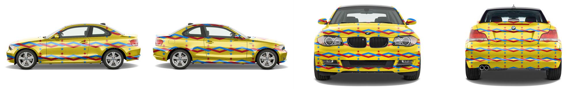 Sports Coupe Wrap #53210